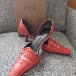 Paolo leather pumps
